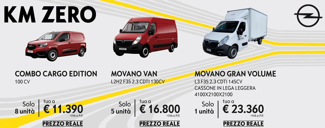 Opel VAN in super offerta