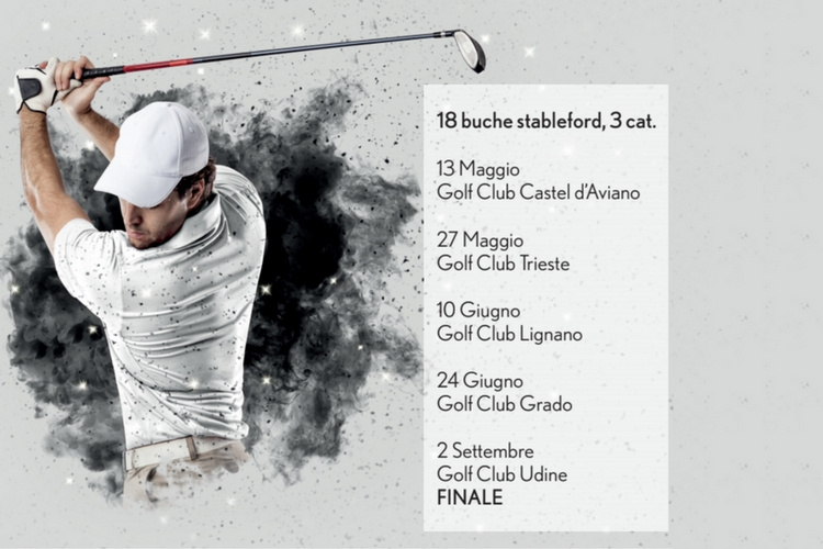 Trofeo Golf Lexus 2018 in FVG